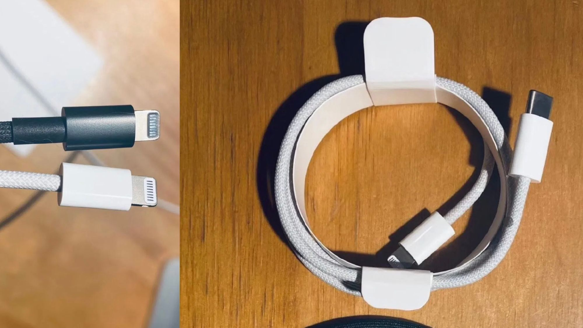 Image of braided USB cable from @L0vetodream on Twitter